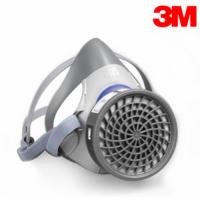 3M 7701 7702舒适型黑白直播飞速体育面具/防毒半面罩/喷漆硅胶面罩