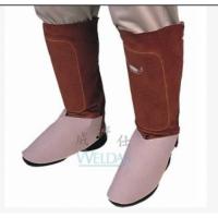 威特仕44-7112焊接护腿脚盖 蛮牛王电焊鞋盖焊工牛皮脚盖